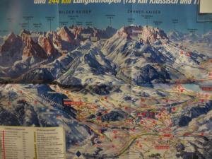 das Skigebiet Hochkössen