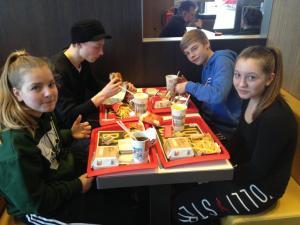 letzte Station -  McDonalds